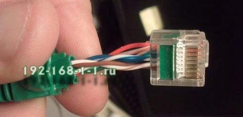 сломанный сетевой разъём rj45