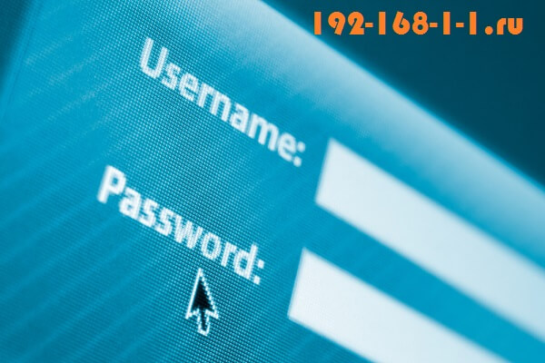 192.168.1.1 admin password admin не заходит