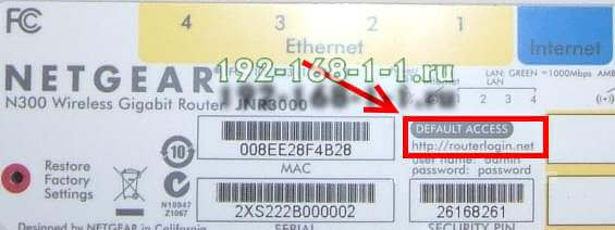 routerlogin.net netgear